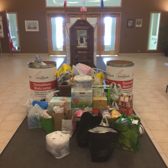 March 2018 Okotoks Food Bank Drive